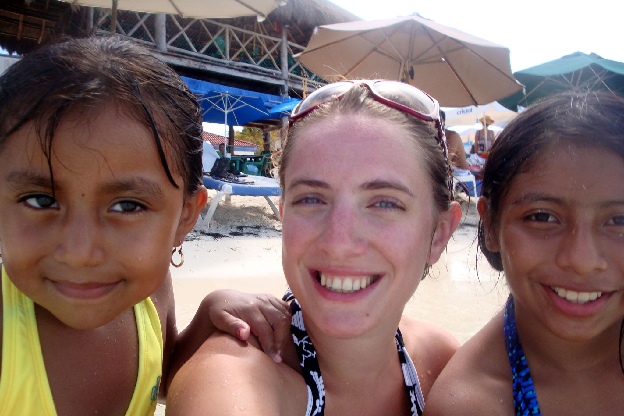 Mexico - selfie met amigas