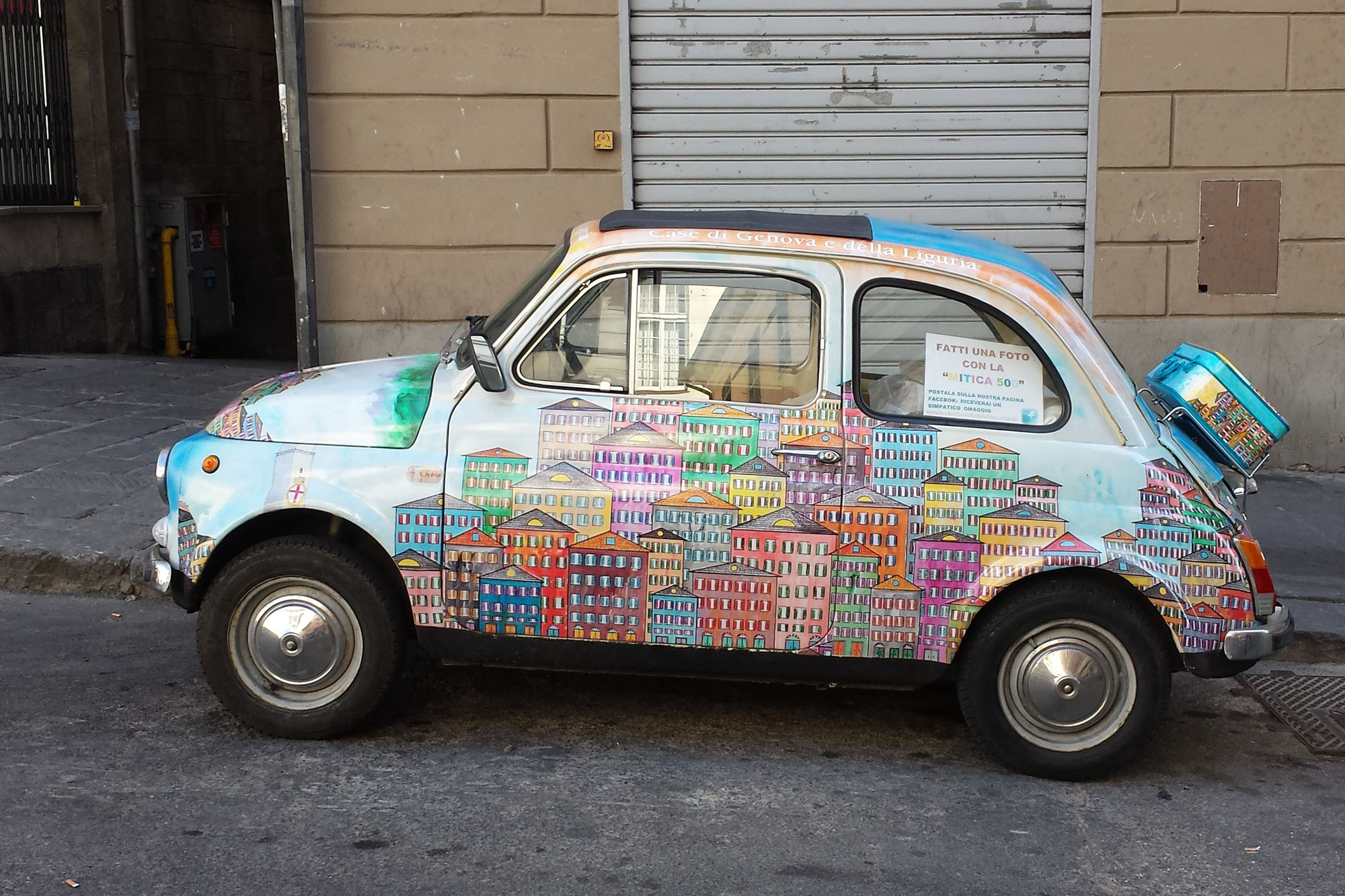 Fiat 500 Genova