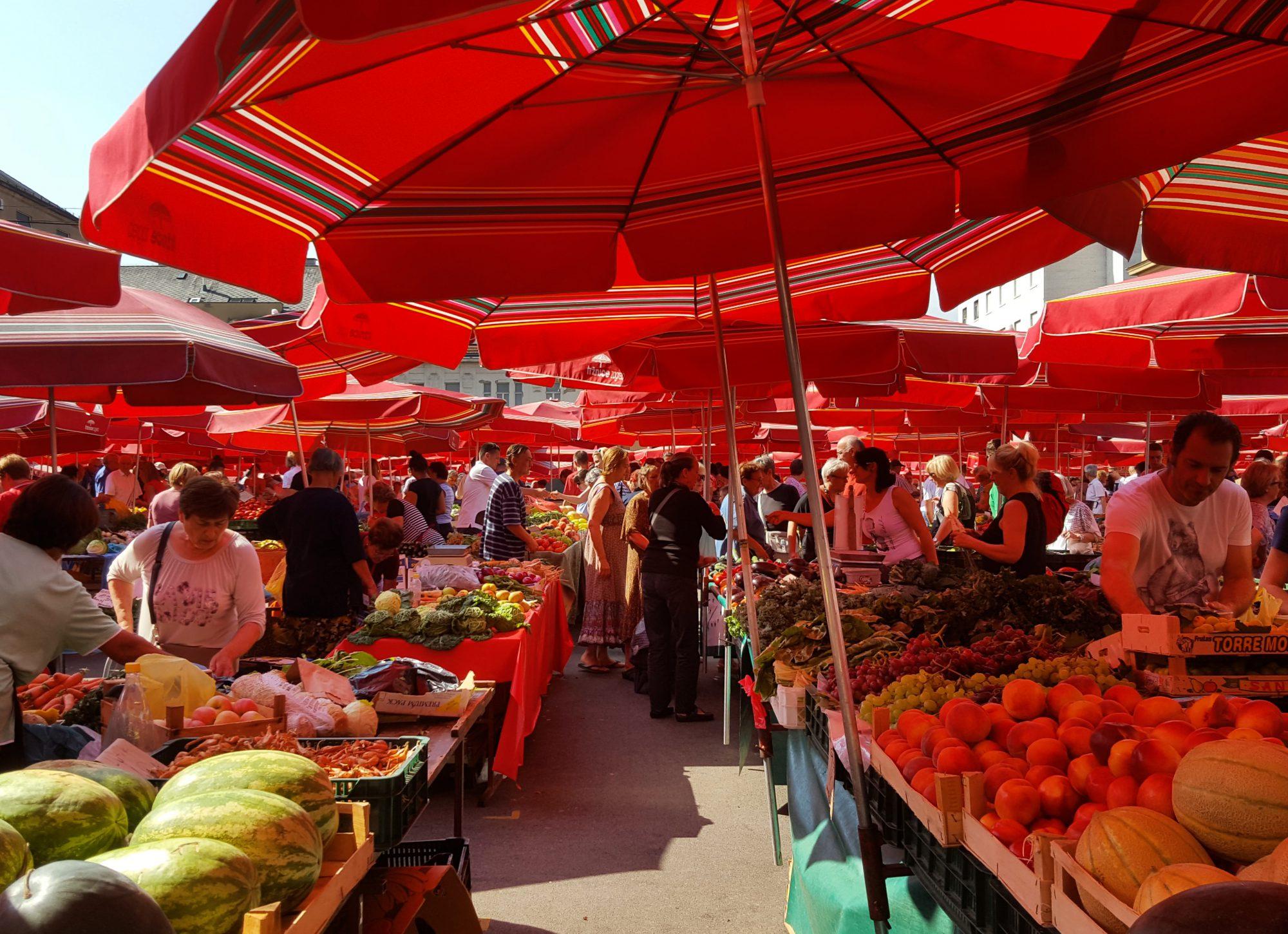 Dolac-markt Zagreb