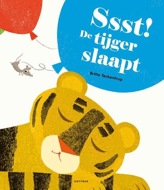 de tijger slaapt