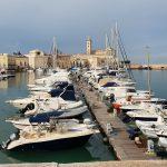 Haventje in Trani