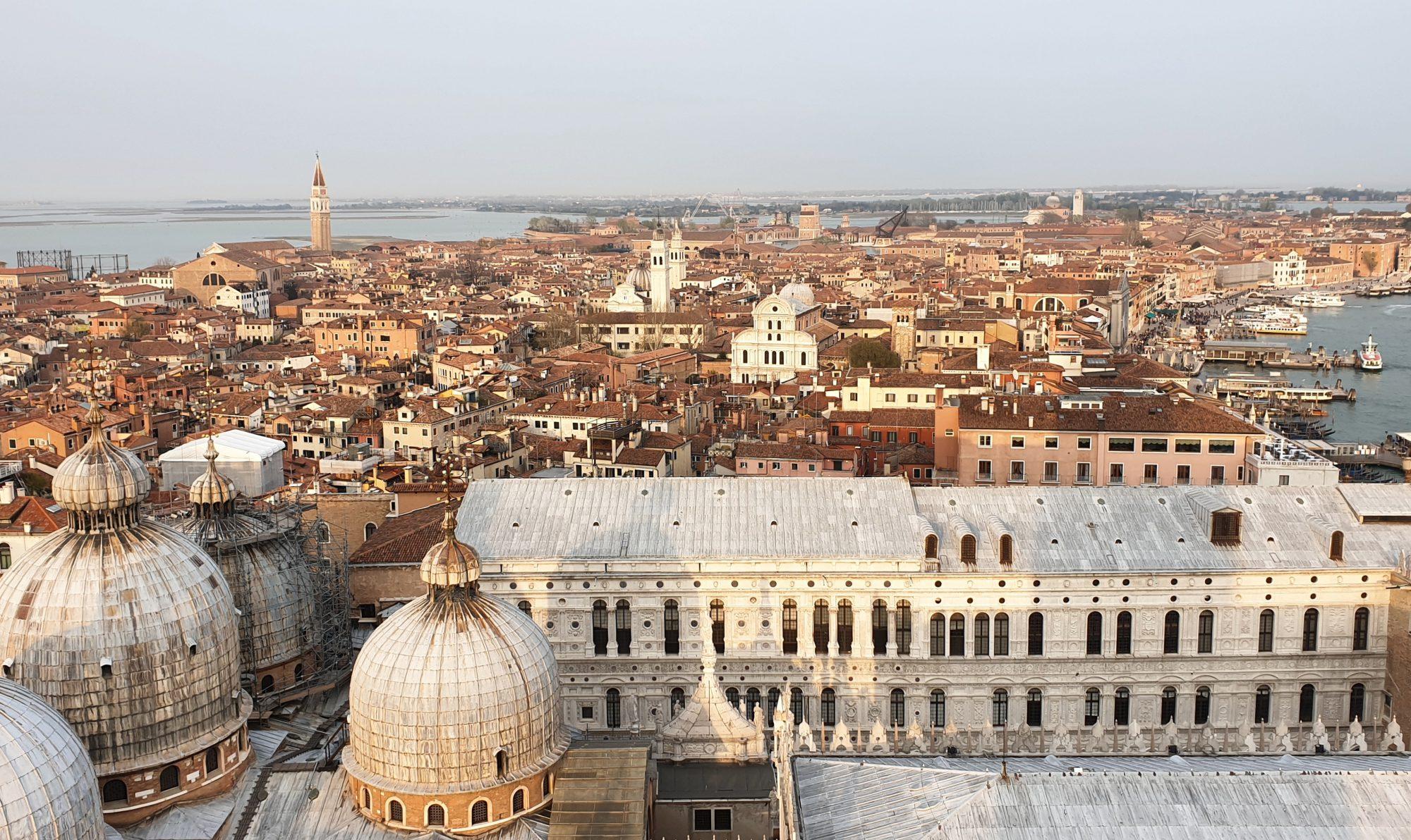 Venetië van boven