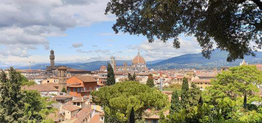 Uitzicht op Florence