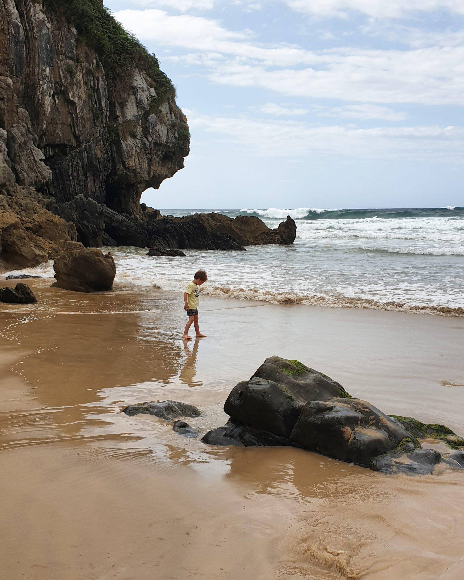 Noord-Spanje strand