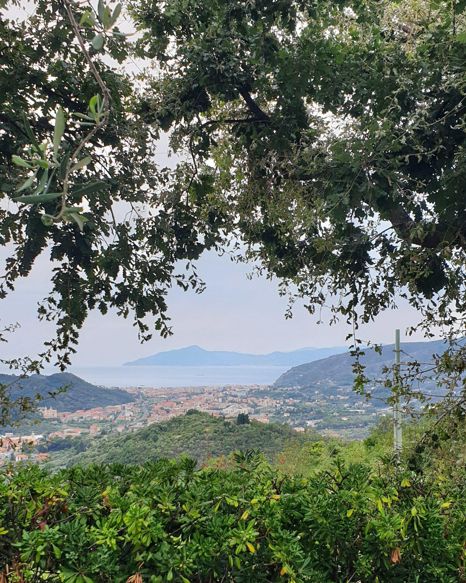 Uitzicht Sestri Levante