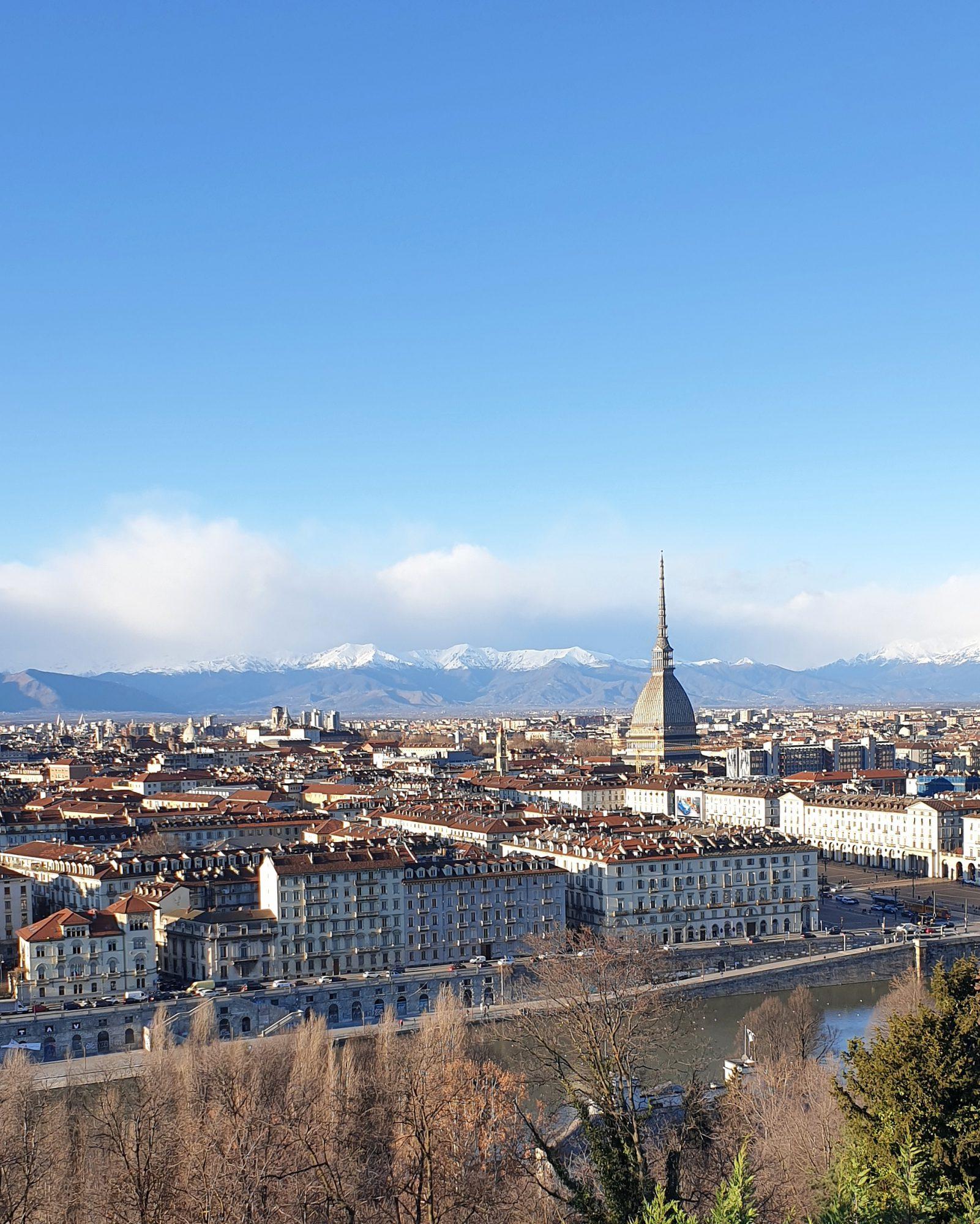 Uitzicht op Turijn