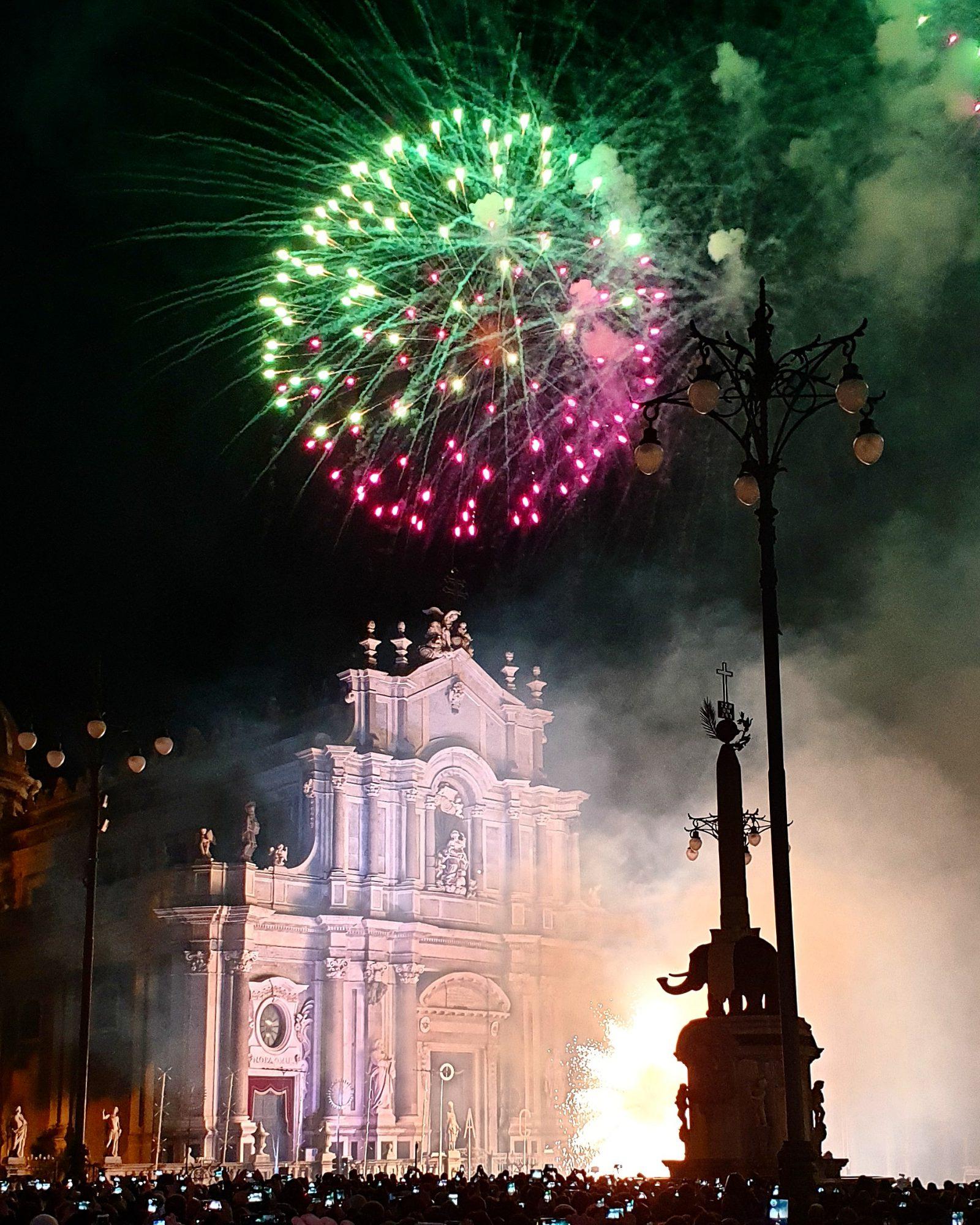 Vuurwerk Catania